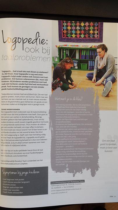 We staan in het gratis magazine For You!