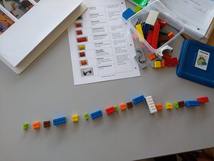 We hebben een hele lange zin gebouwd!