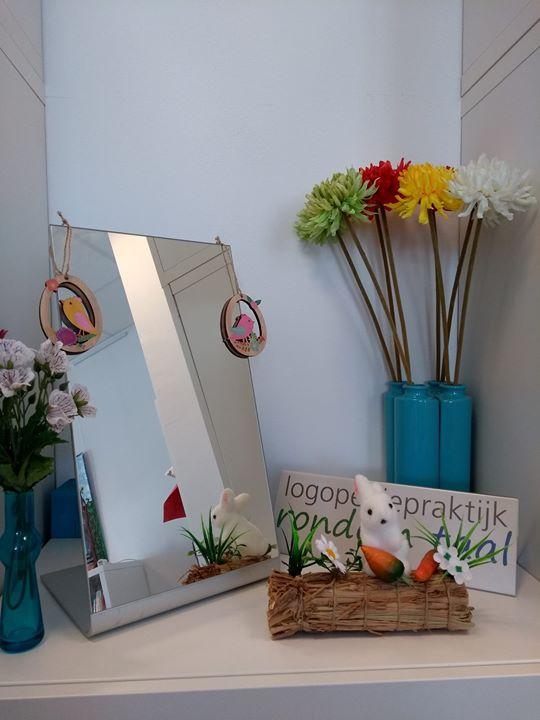 Wij zijn klaar voor de lente en Pasen dankzij onze prak...